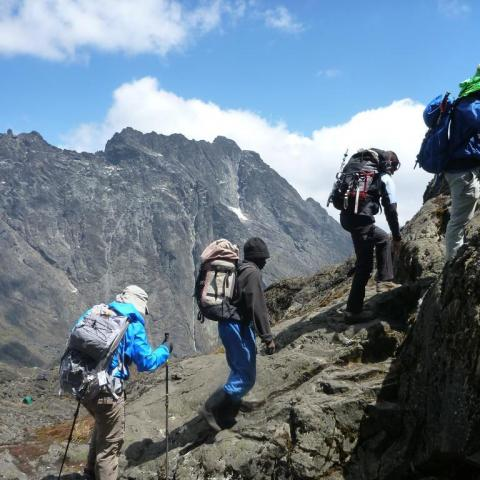 Rwenzori Trek (Day 4) - To Stella Peak
