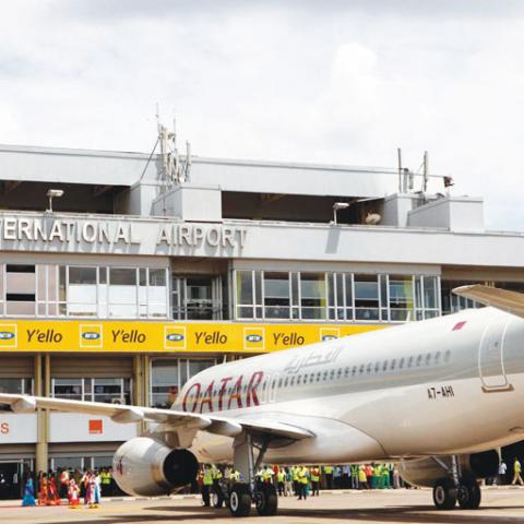To Entebbe and Departure